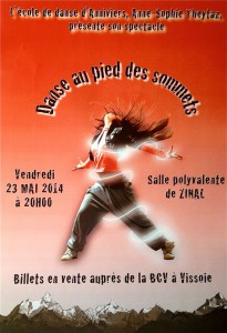 affiche spectacle 2014